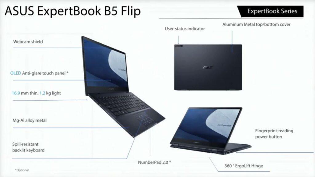ASUS ExpertBook B5 Flip schematics
