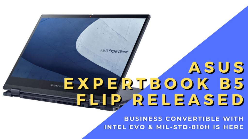 ASUS ExpertBook B5 Flip cover