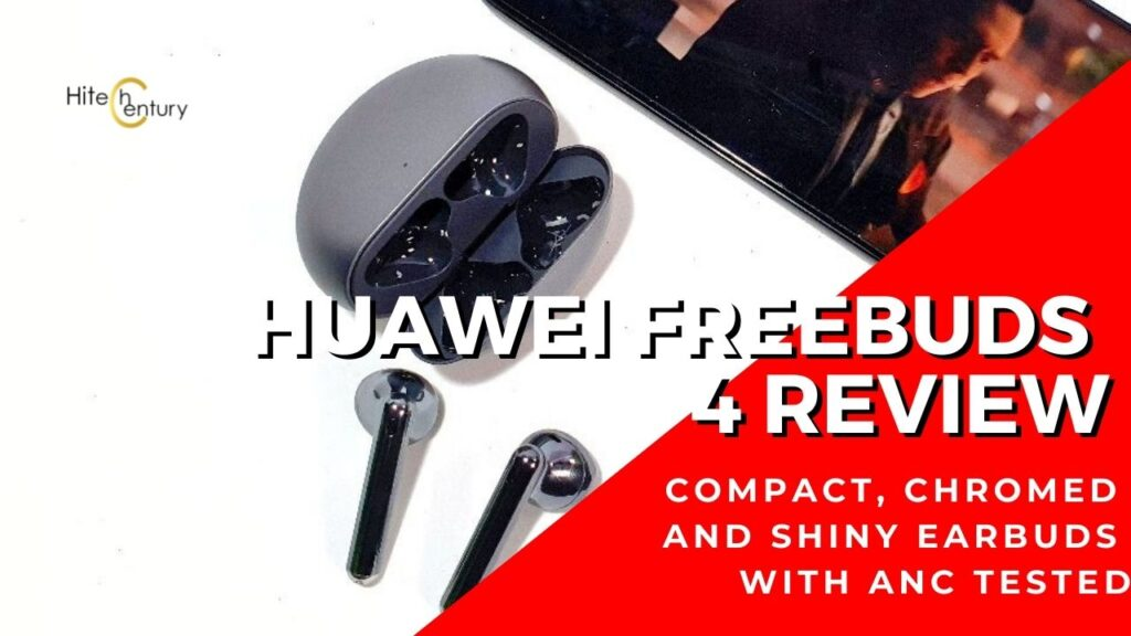 Huawei FreeBuds 4 Review - Powerful noise cancelling meets sweet sound 3