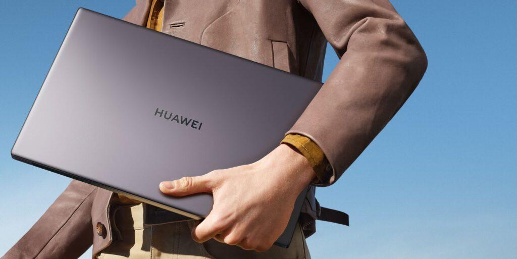 Huawei MateBook D15 handheld