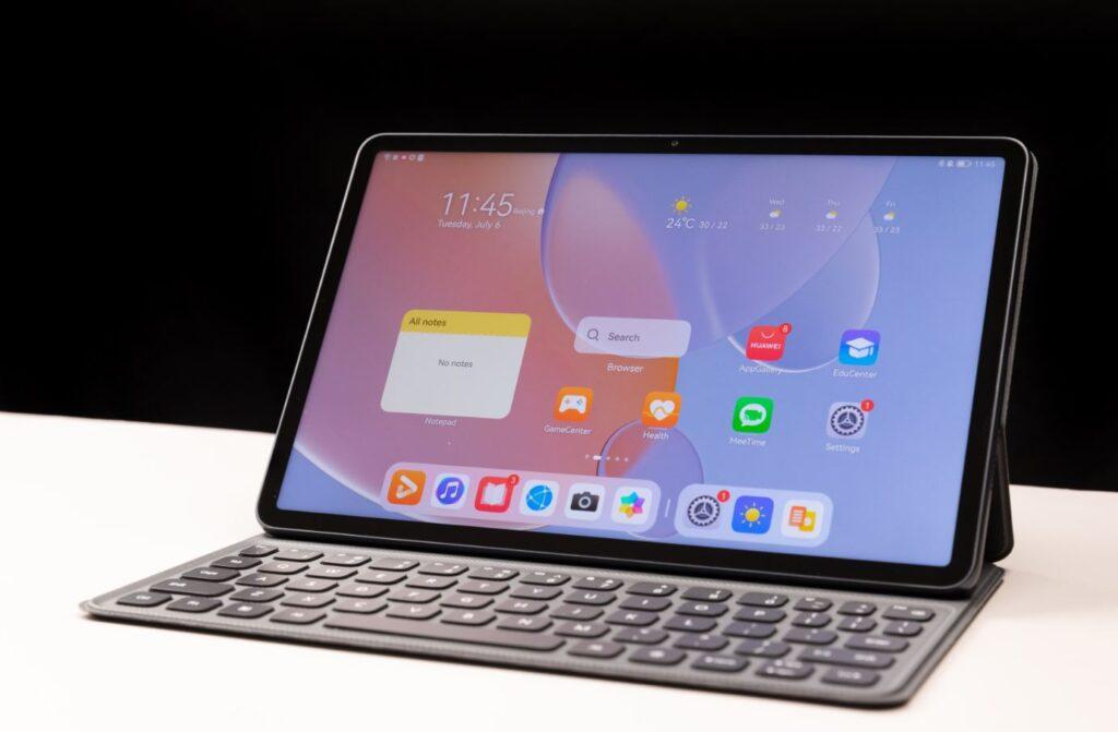 Huawei MatePad 11 preorder details tablet display closeup