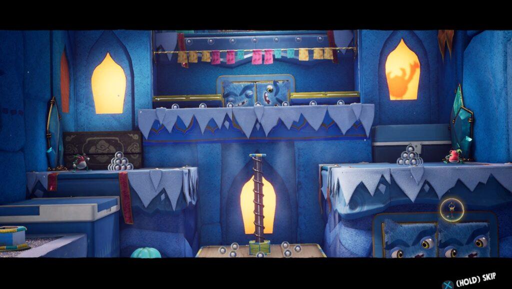 Sackboy: A Big Adventure PS4 Pro side