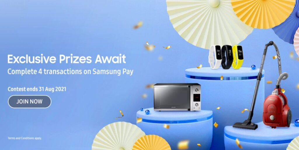 Samsung Celebrate Mid Year Campaign cover