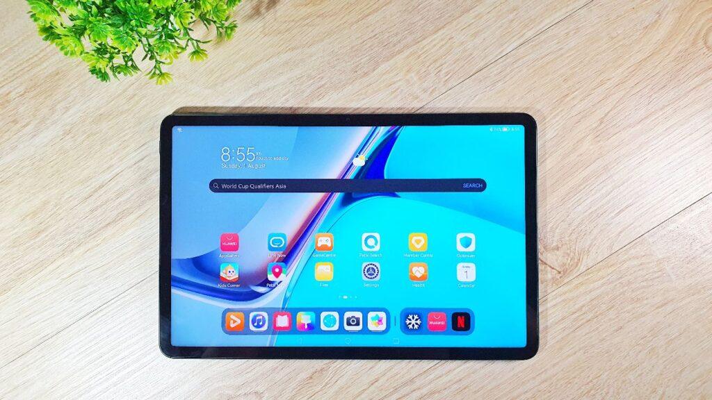 Huawei MatePad 11 review top