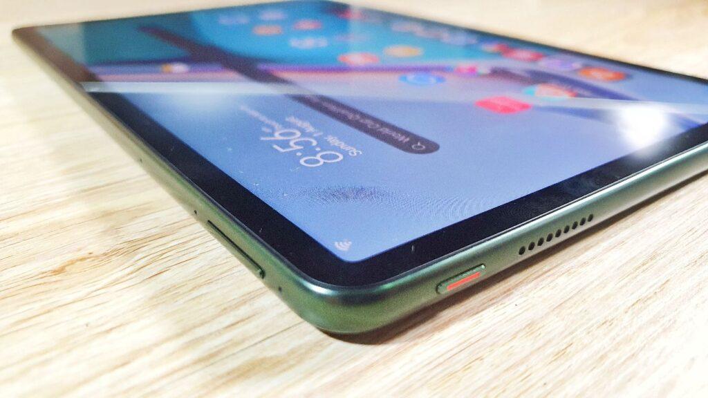 Huawei MatePad 11 review corner