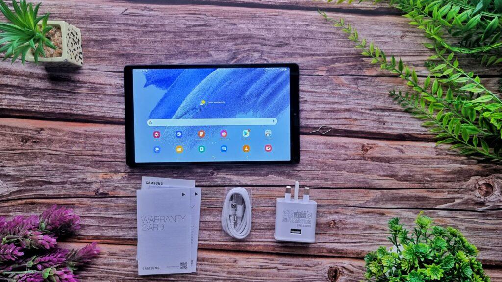 Samsung Galaxy Tab A7 Lite Unboxing