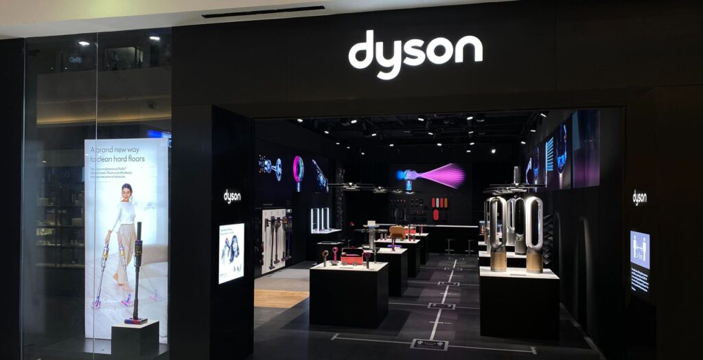 Dyson Demo store cover kuching