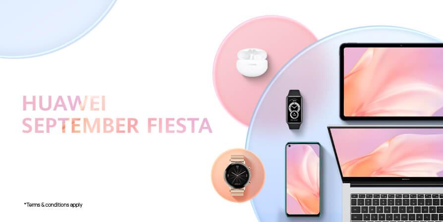 Huawei September Fiesta cover