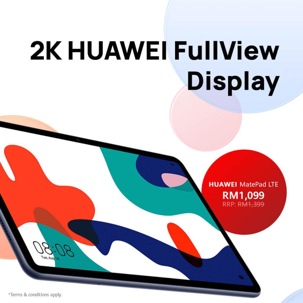 Huawei September Fiesta Deal #5 Huawei MatePad 10.4 LTE