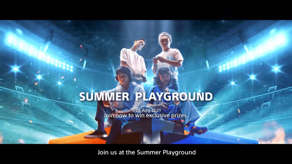 Sony Summer Playground cover