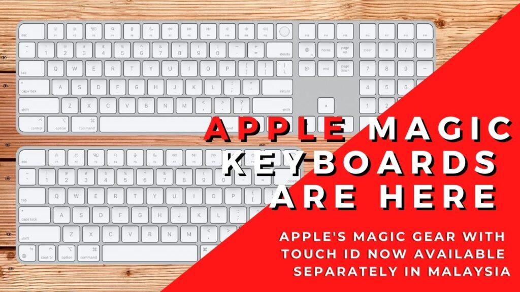 apple magic keyboards