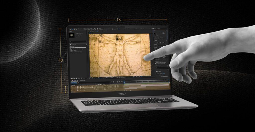 MSI Creator Z16 content creator laptop
