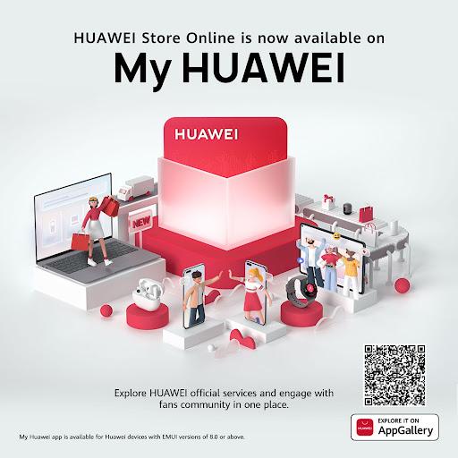 huawei app update