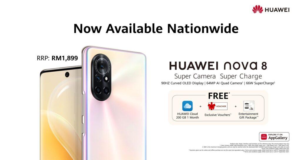 huawei nova 8 price malaysia