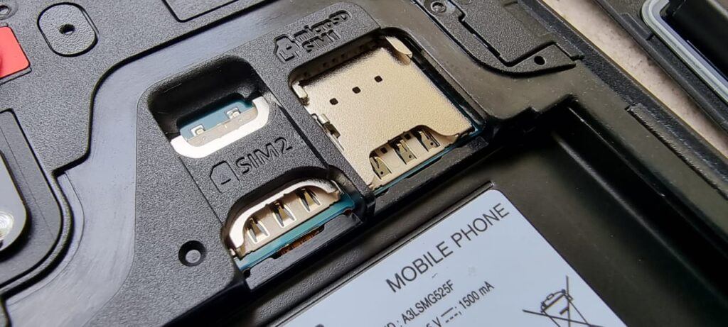 XCover 5 Enterprise Edition swap battery