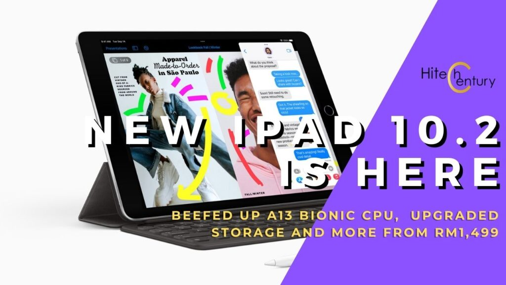 New Apple iPad 10.2 packs better performance with A13 Bionic and prices from RM1,499 3