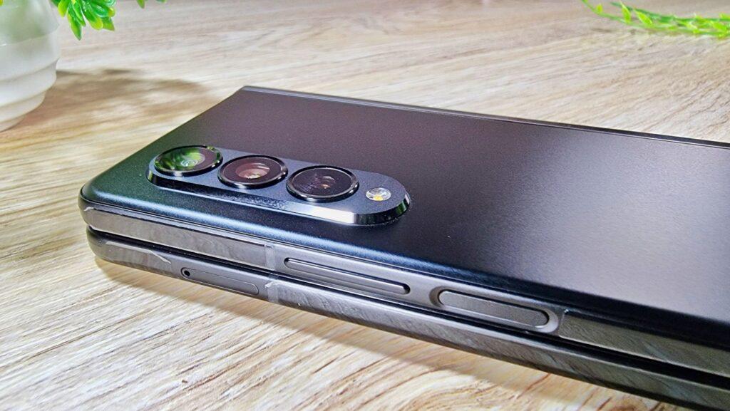 Samsung Galaxy Z Fold3 5G First Look  rear camera view