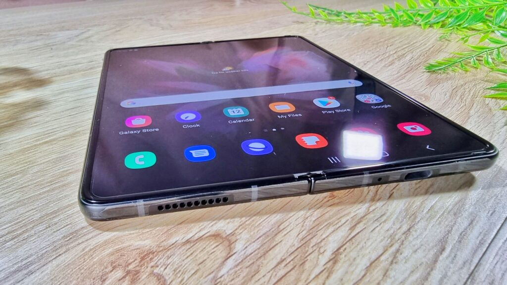 Samsung Galaxy Z Fold3 5G First Look angled view