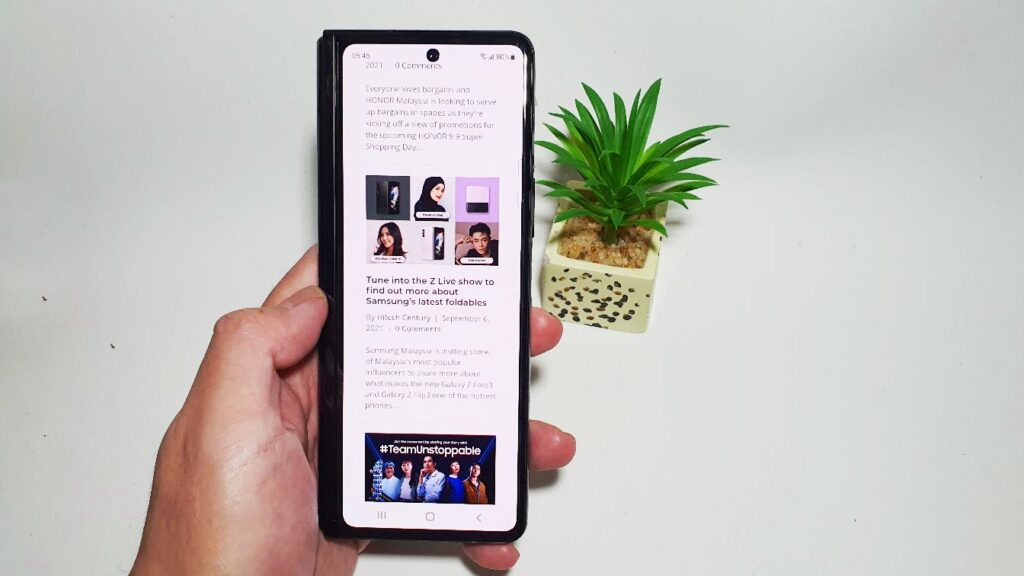 Samsung Galaxy Z Fold3 5G First Look