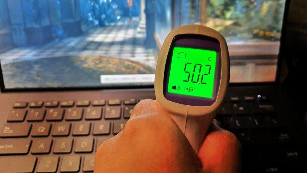 ASUS Expertbook B9 B9400C Review  maximum temperature
