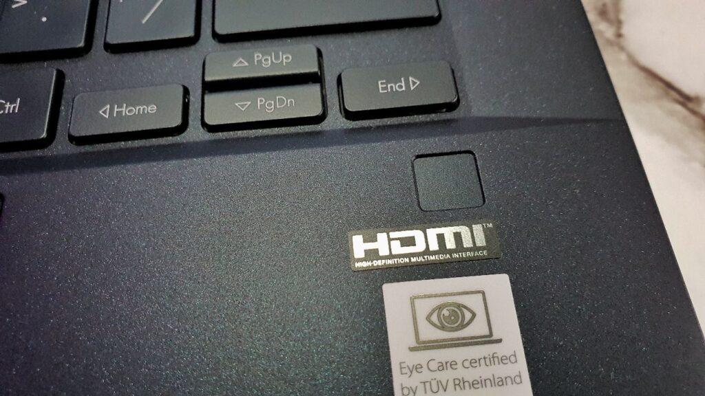 ASUS Expertbook B9 B9400C Review  fingerprint reader