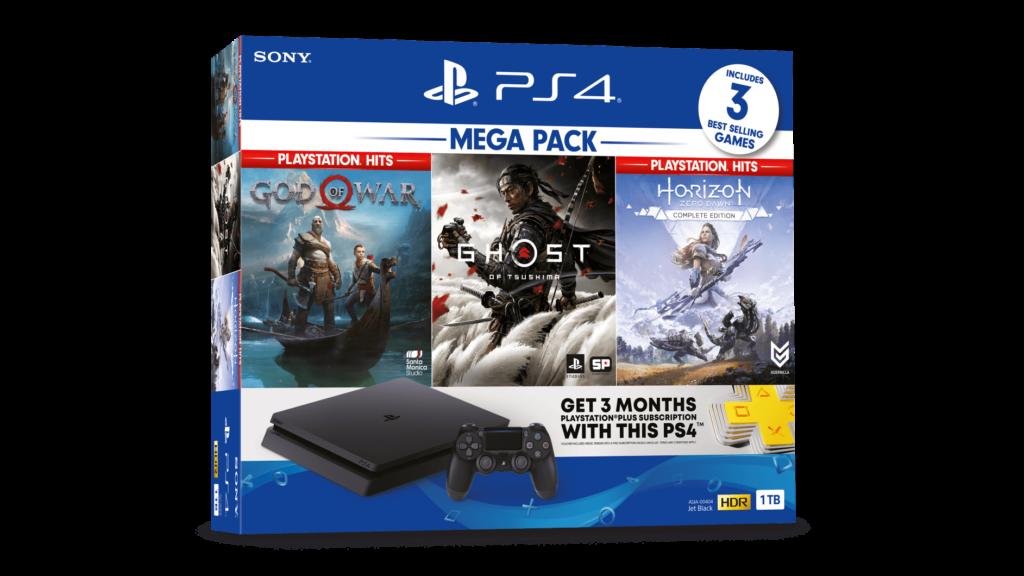 PlayStation 4 Mega Pack art