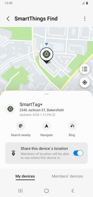 Samsung Smartthings screen cap