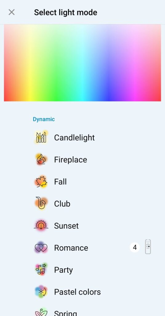 Philips WiZ LED A60 Review colour choices