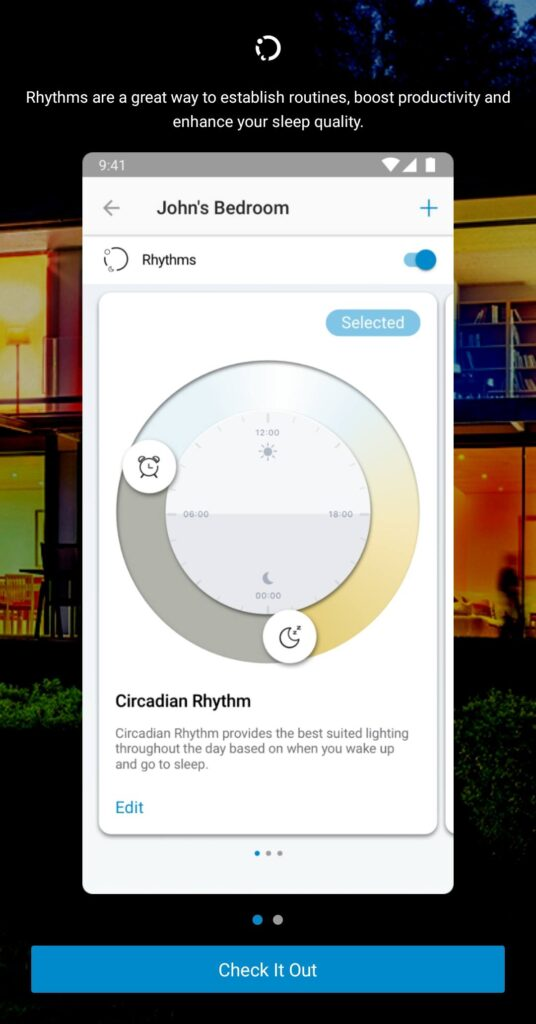 Philips WiZ LED A60 Review lighting intensity