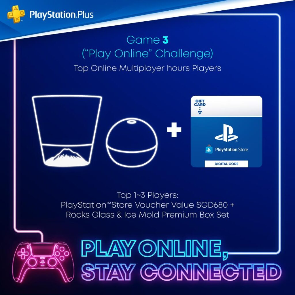 Sony Play Online Stay Connected campaign challenge 3