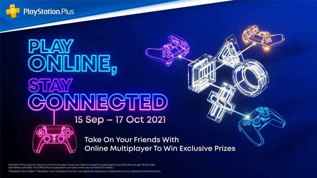 Sony Play Online Stay Connected campaign cover