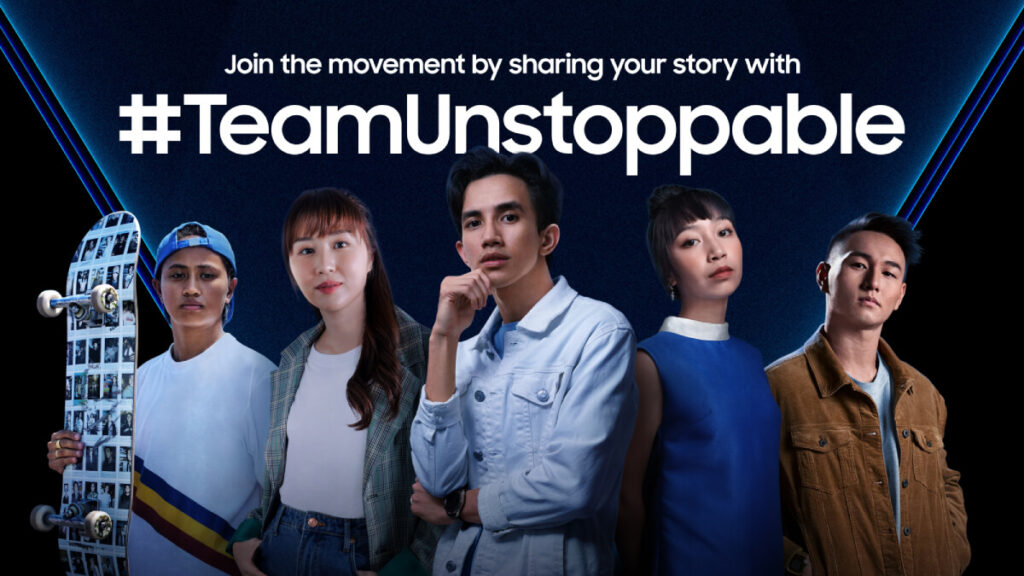 Samsung #TeamUnstoppableMY campaign kicks off in Malaysia; stand a chance to win a Galaxy Z Flip3 3