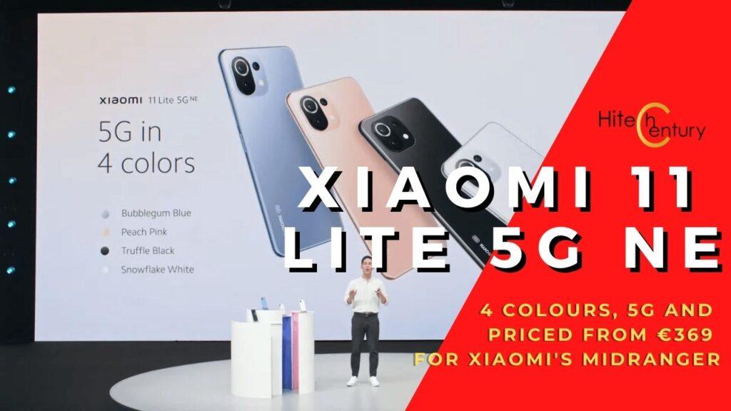 Xiaomi 11 Lite 5G NE cover