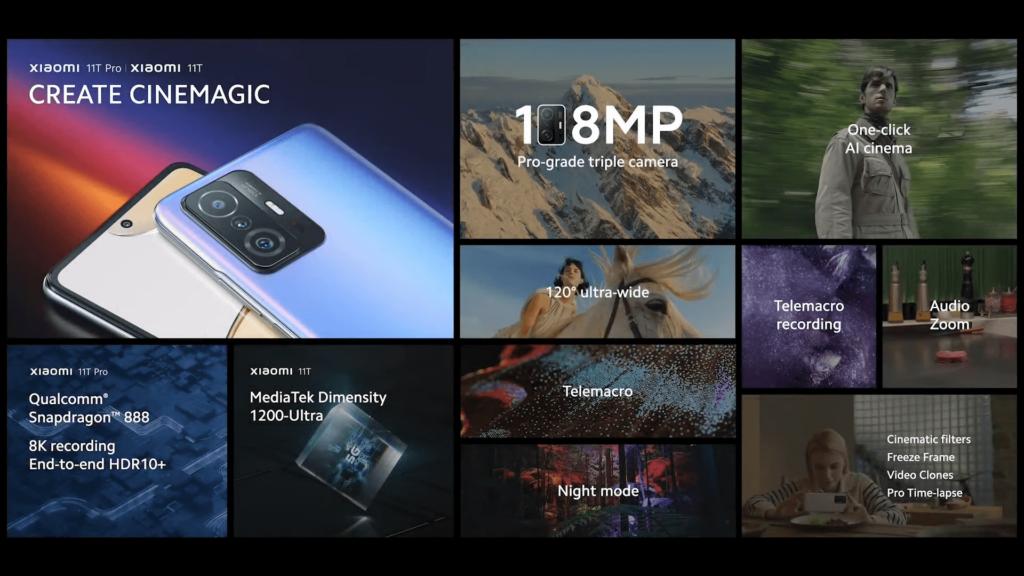 Xiaomi 11T Pro perks