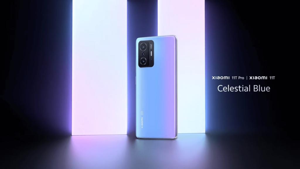 Xiaomi 11T Pro blue