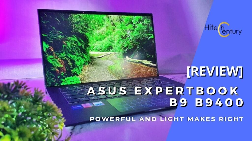 ASUS Expertbook B9 B9400C Review - The World's Lightest Business Ultraportable Gets Better 1