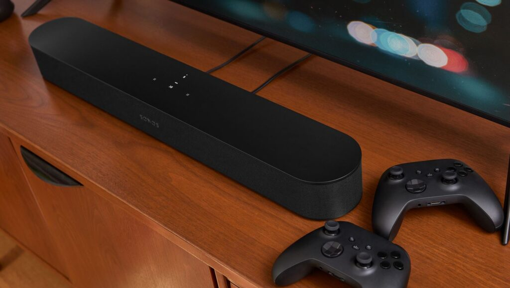 Sonos Beam Gen 2 angled