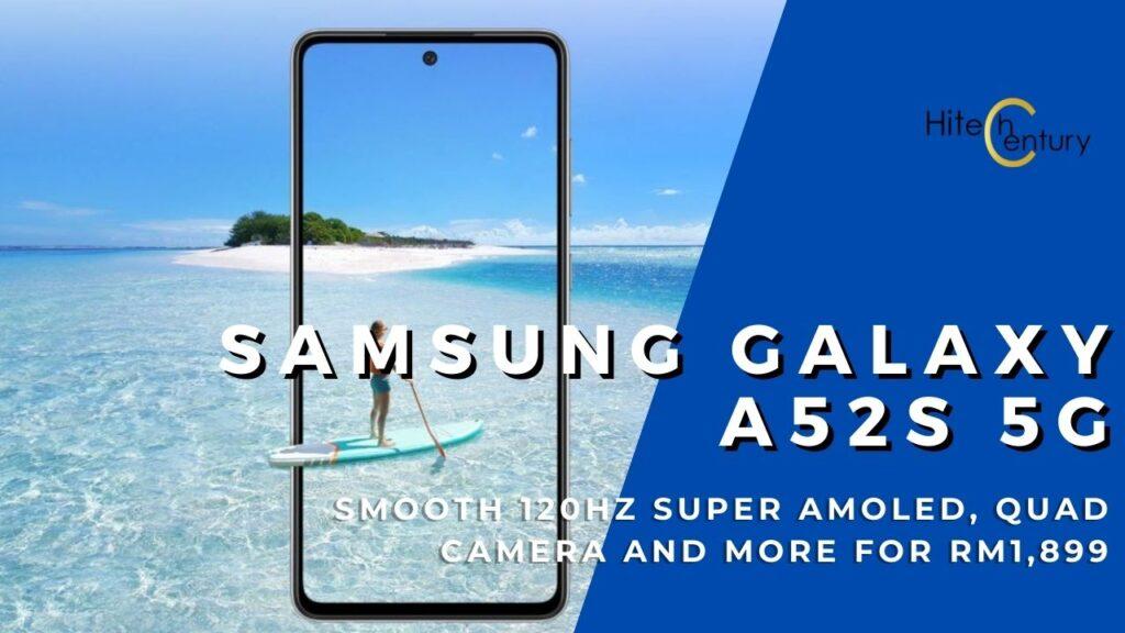 Galaxy A52s 5G cover