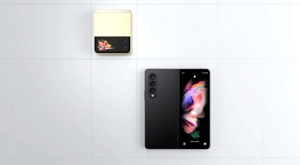 Samsung Galaxy Z Fold3 5G and Flip3 5G