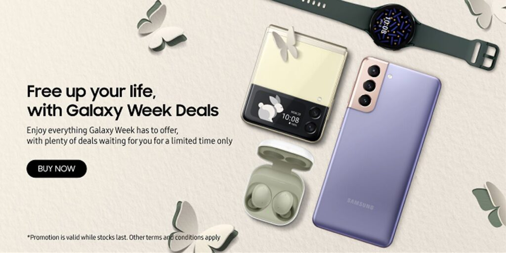Samsung Galaxy Week deals list