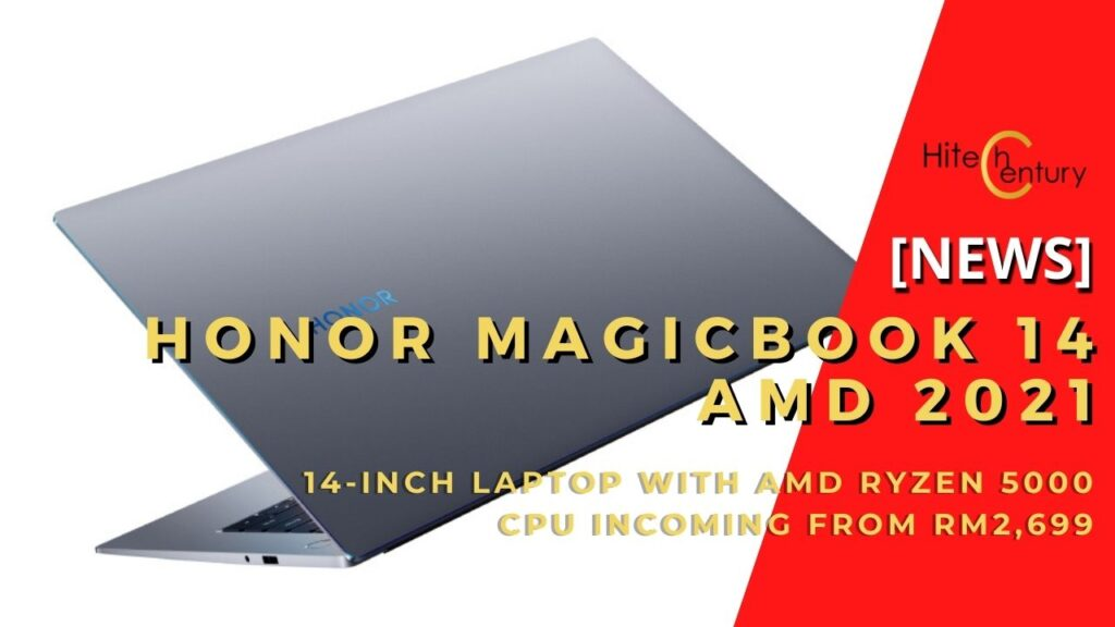 honor magicbook 14 cover