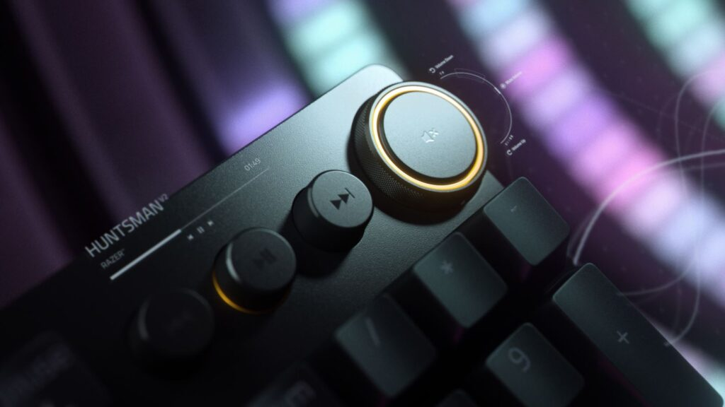 Razer Huntsman V2 Keyboard dial