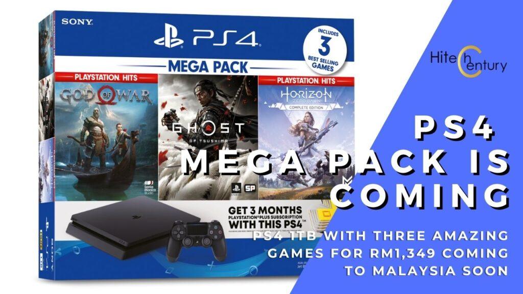 PlayStation 4 Mega Pack cover