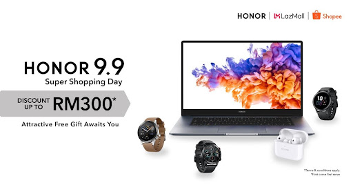 HONOR 9.9 Super Shopping Day cover