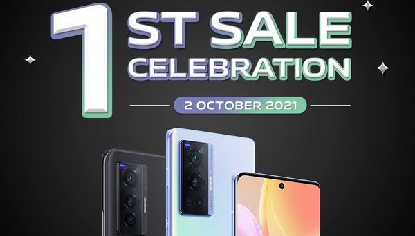 vivo X70 First Sale Celebration first sales