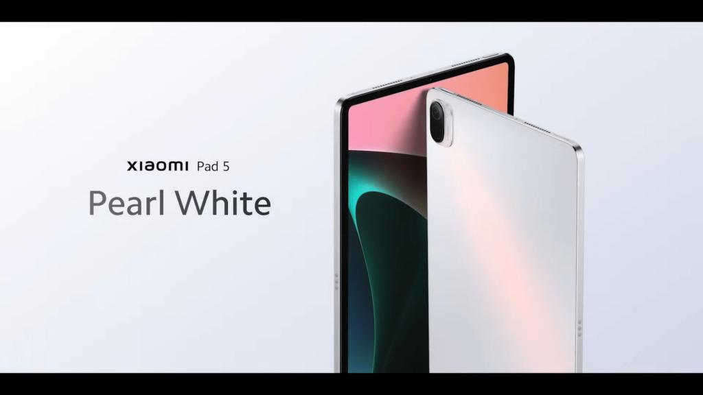 Xiaomi Pad 5 tablet white