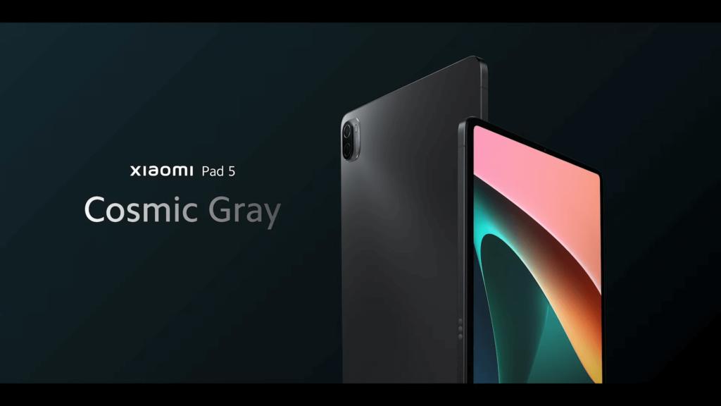 Xiaomi Pad 5 tablet gray