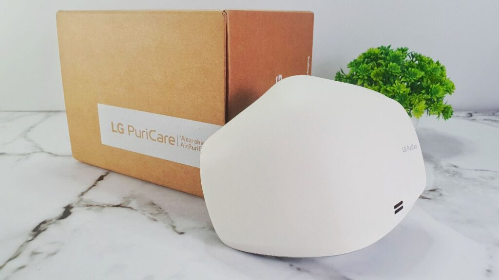 G PuriCare Wearable Air Purifier Mask Review cover
