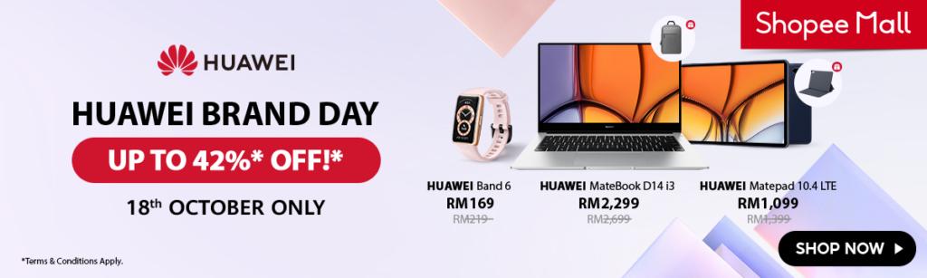 HUAWEI 10.18 Brand Day Sale