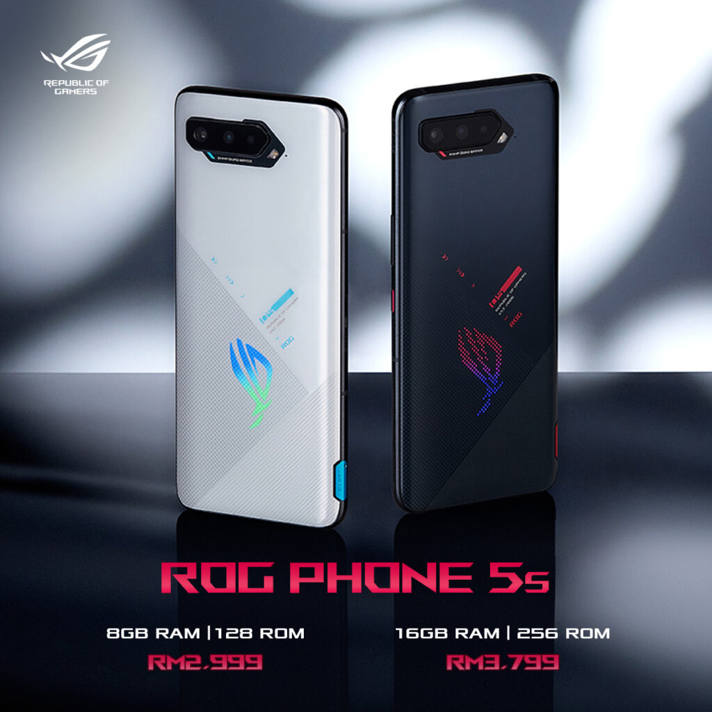 Powerful ASUS ROG Phone 5s Malaysia  prices